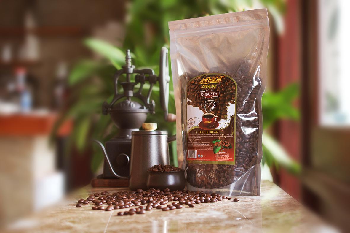Cà phê hạt rang Robusta - Niềm tin được khẳng định
