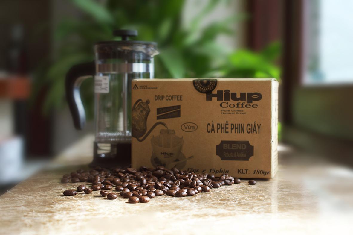 Cà phê phin giáy Hiup Coffee - Đơn giản tiện lợi, mọi lúc mọi nơi đang dần thành xu hướng mới