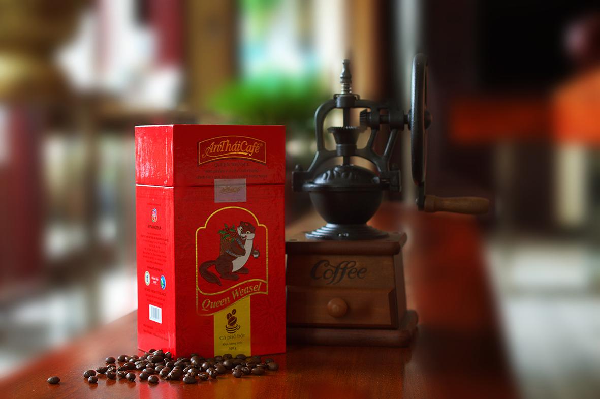 Cà phê bột Queen Weasel - Quà tặng của giới sành cà phê