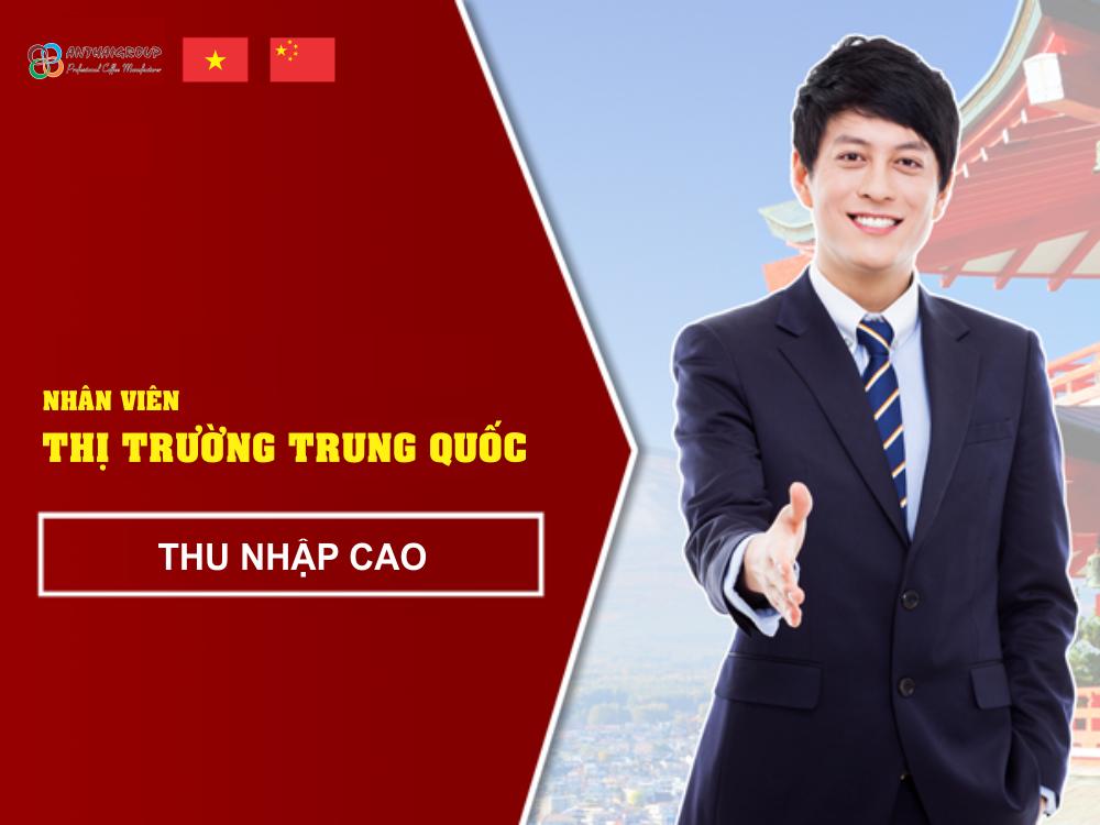 Nhân viên phát triển thị trường Trung Quốc