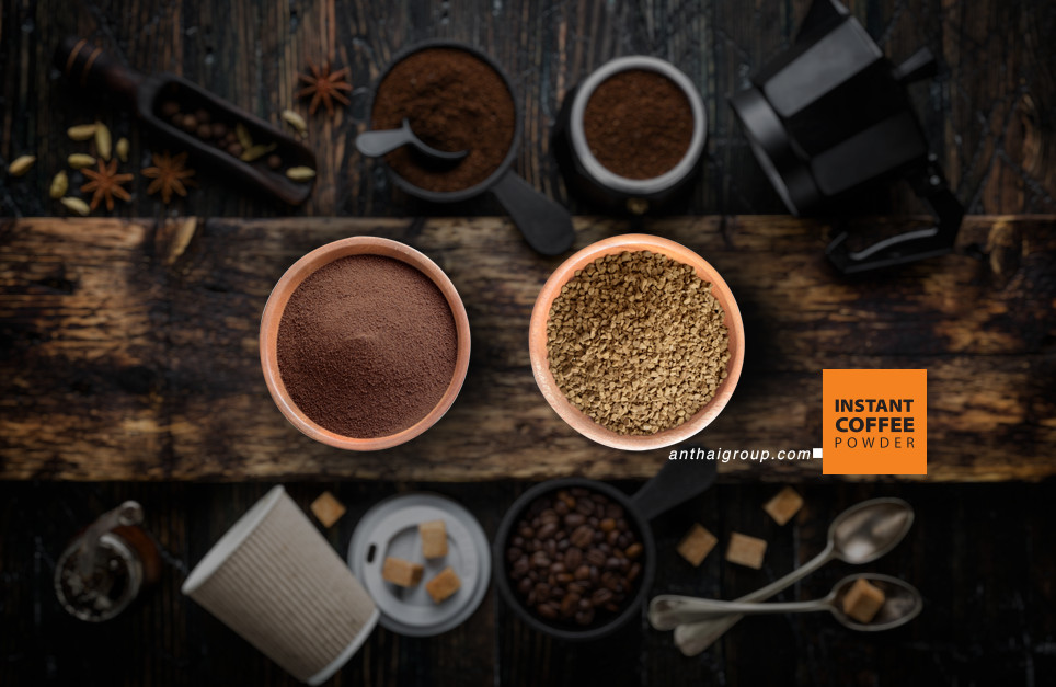 Hai loại cà phê hòa tan Sây phun và Sấy lạnh được nhiều nhà sản xuất ưa chuộng